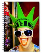 Times Square Trish Spiral Notebook