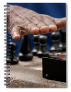 Timing The Chess Move Spiral Notebook