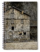 Tin Cup Chalice Rustic Barn Spiral Notebook
