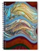 Tin Foil Spiral Notebook