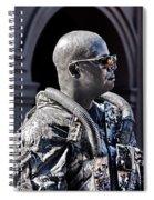 Tin Man Spiral Notebook