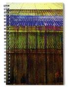 Tin Roofs Spiral Notebook
