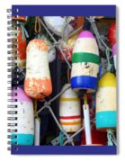 Tin Shed Floats Spiral Notebook