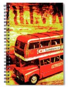 Tin Sign Travels Spiral Notebook