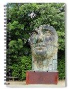 Tindaro Screpolato Sculpture In Boboli Garden 0197 Spiral Notebook