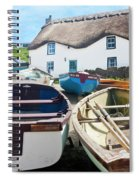 Tinker Taylor Cottage Sennen Cove Cornwall Spiral Notebook
