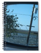 Tinsely Tree Spiral Notebook