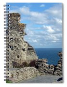 Tintagel Castle 1 Spiral Notebook