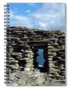 Tintagel Castle 3 Spiral Notebook