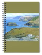 Tintagel Spiral Notebook