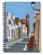 Tintin En Puerto Real Spiral Notebook