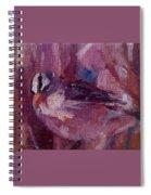 Tiny Bird Study #1 Spiral Notebook