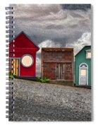 Tiny Houses On Walnut Street Spiral Notebook