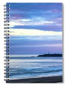Guiding Light In The Distance Spiral Notebook