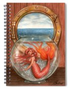 Tiny Mermaid Spiral Notebook
