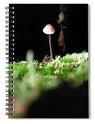 Tiny Mushroom 1 Spiral Notebook