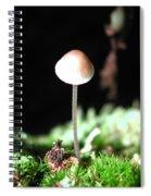 Tiny Mushroom 2 Spiral Notebook