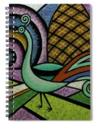 Tiny Peacock Spiral Notebook