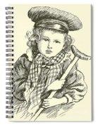 Tiny Tim Spiral Notebook