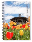 Tip Toe To The Gazebo Spiral Notebook