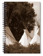Tipis In Toppenish Spiral Notebook