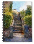 Tipsy Stairs Spiral Notebook