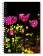 Tiptoe Through The Tulips Spiral Notebook