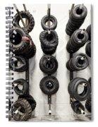 Tire Rack Spiral Notebook