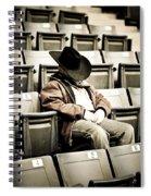 Tired Buckaroo Spiral Notebook