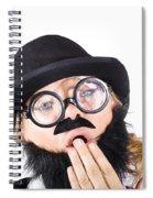 Tired Businessperson Spiral Notebook