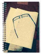 Tired Eyes Spiral Notebook