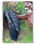 Tired Tractor Tire Spiral Notebook