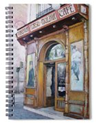 Tirso De Molina Old Tavern Spiral Notebook
