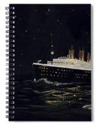 Titanic Spiral Notebook