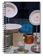 Titanic Dinnerware Spiral Notebook