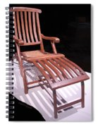 Titanic Teak Lounge Spiral Notebook