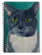 Titter, Cat Portrait Spiral Notebook
