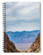 Titus Canyon Spiral Notebook
