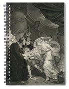 Titus's Garden. Lucius Pursued By Lavinia Spiral Notebook