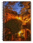 Tlaquepaque Evening Spiral Notebook