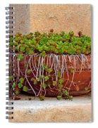Tlaquepaque Potted Greens Spiral Notebook