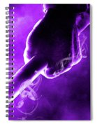 Tmnt 2   -  Donatello Smoky Purple. Spiral Notebook