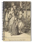 To Caper Nimbly In A Lady's Chamber To The Lascivious Pleasing Of A Lute Spiral Notebook