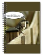 To Fly Or Not To Fly Spiral Notebook