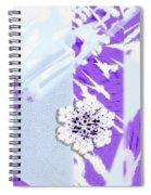To Save A Snowflake, Portrait Orientation Spiral Notebook