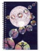 To The Moon And Beyond Spiral Notebook