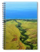 To The Ocean Spiral Notebook
