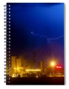 To The Right Budweiser Lightning Strike Spiral Notebook