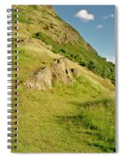 To The Top Of Arthur's Seat. Spiral Notebook