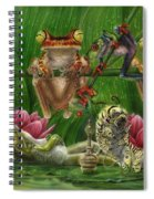 Toasted Frogs Spiral Notebook